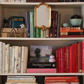 Как преобразить книжные полки своими руками?