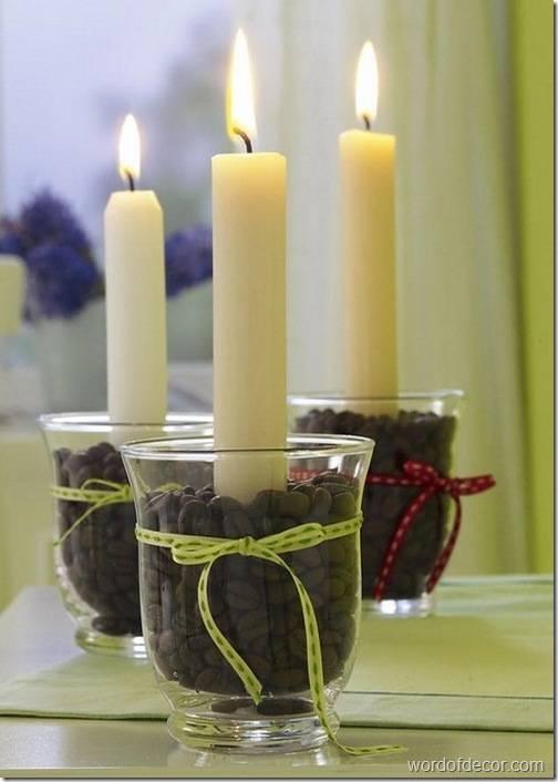 Свечи длинные своими руками