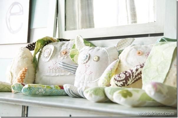 декоративные подушки игрушки