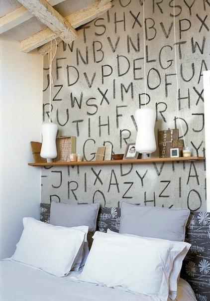буквы в интерьере