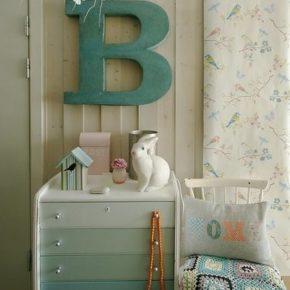 Модные тенденции: Буквы в интерьере