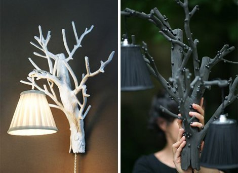 Как сделать декоративные ветки своими руками