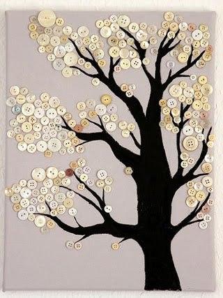 Деревья из ткани своими руками