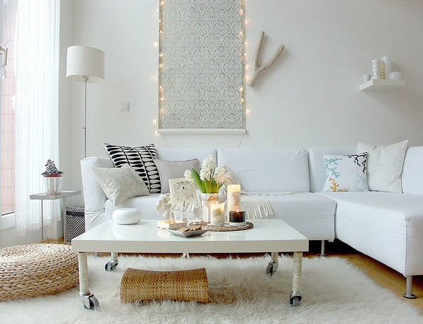 Стильный современный интерьер гостиной