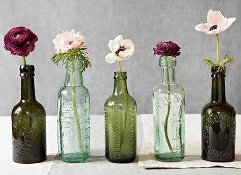 Декупаж бутылок своими руками ваза