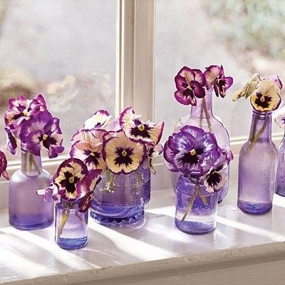 вазы из бутылок и банок своими руками