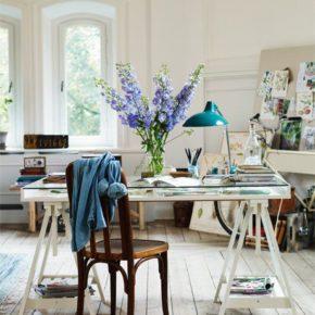 20 стильных интерьеров домашнего офиса