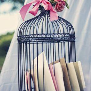 Декоративные клетки для птиц - элемент декора