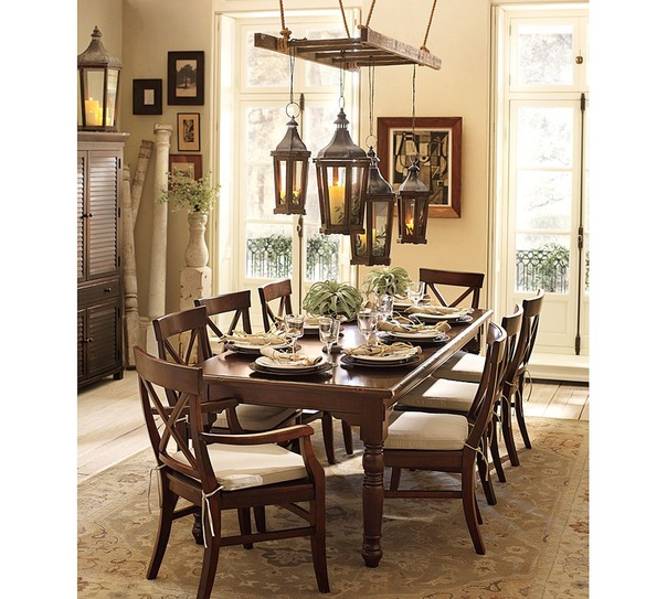 Dining room pottery barn