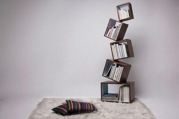 книжные полки своими руками