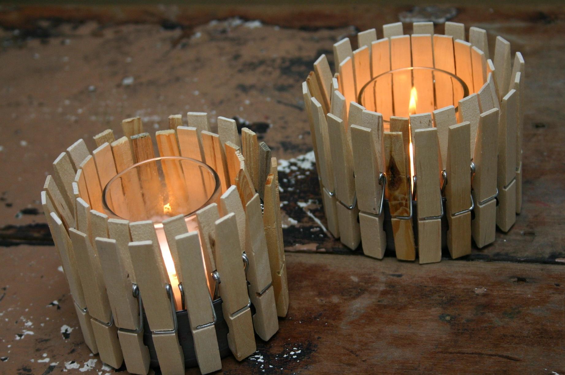 Дизайн свечей своими руками
