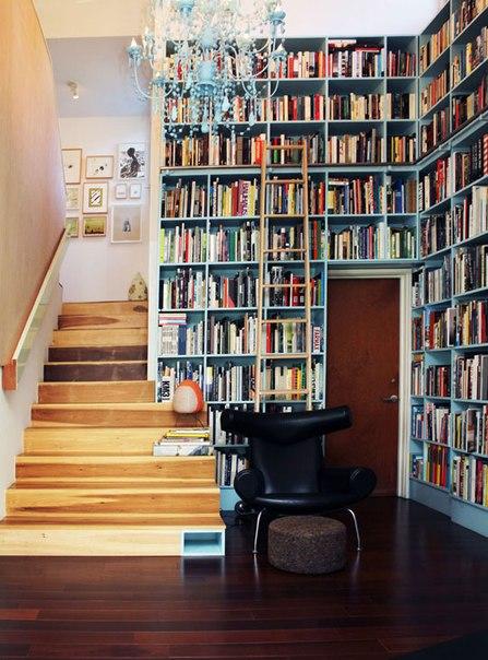 Обустройство домашней библиотеки