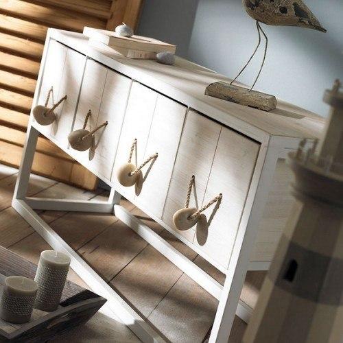 декор мебели в средиземноморском стиле. мебельные ручки из камней.