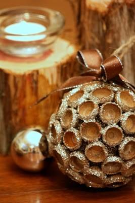 Декор из природного материала своими руками