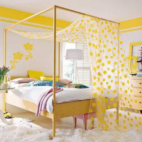 Желтый цвет в интерьере - солнечный праздник