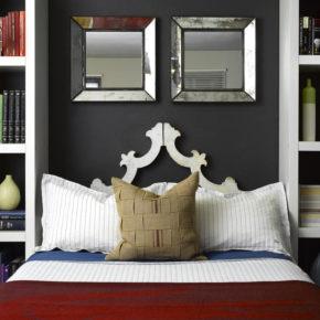 Зеркало в спальне - идеи и решения