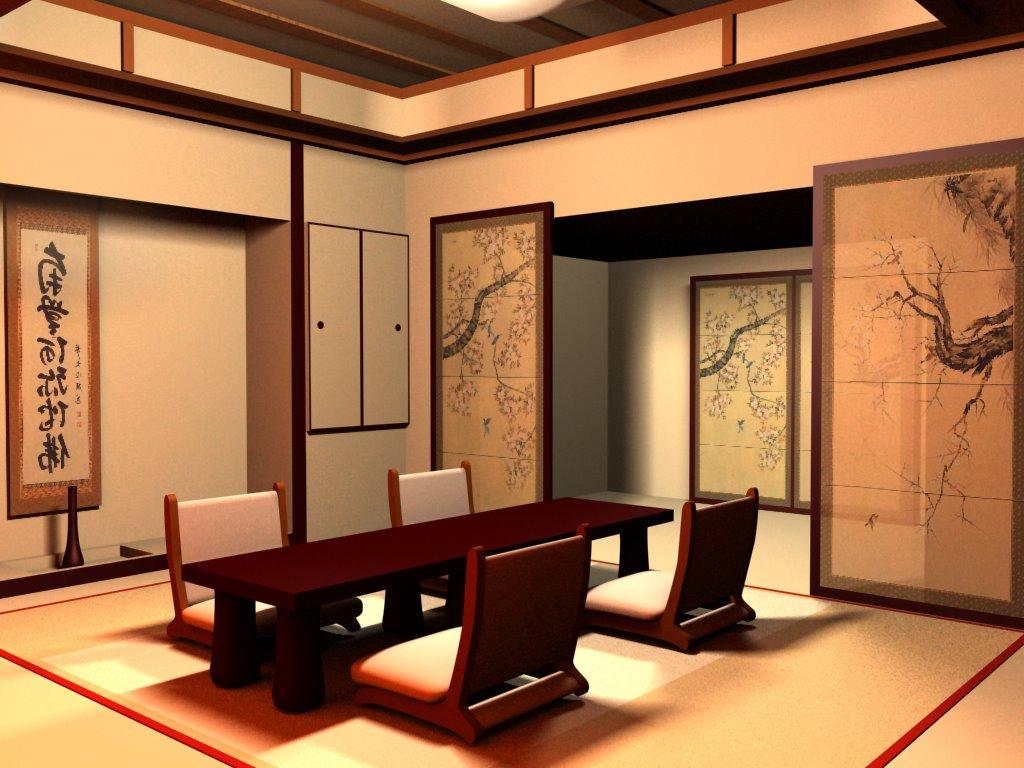 Японские дизайны интерьеров