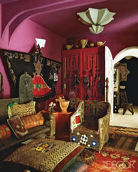 стиль марокканский в интерьере фото