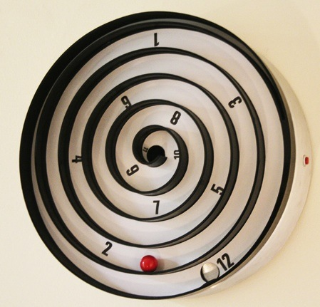 Wall clock with own hands