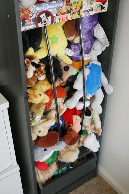 Storage of toys