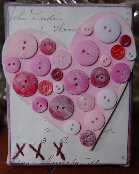 Декор ко дню святого Валентина своими руками