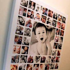 55 идей по размещению семейных фотографий