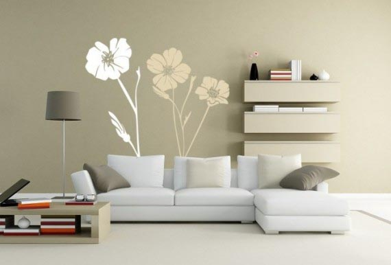 Photo wallpapers in the interior