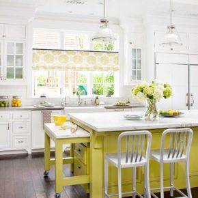 Идеи интерьера: кухонный остров