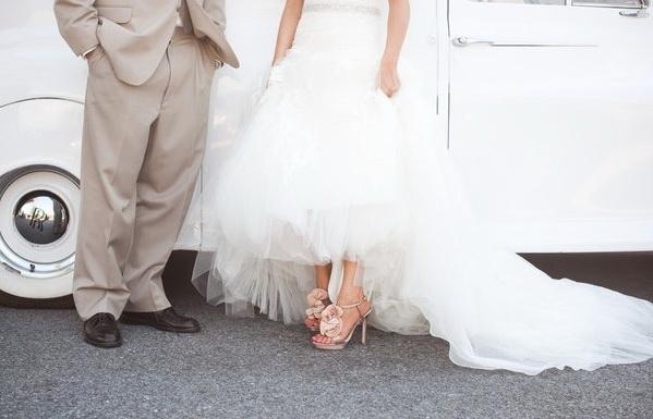 Свадебные туфли фото 11