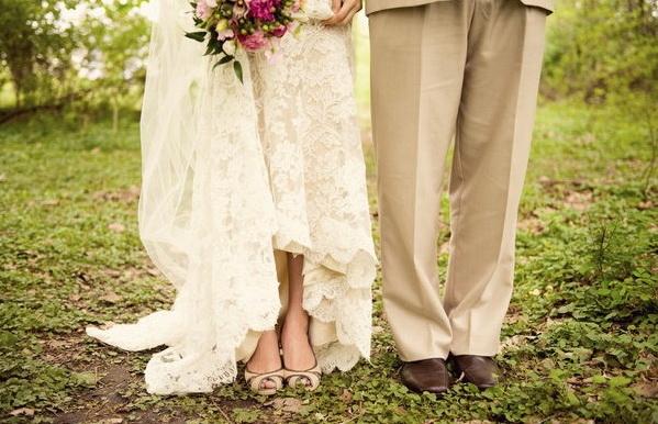 Свадебные туфли фото 14