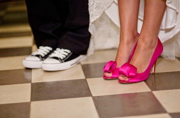 Свадебные туфли фото 18