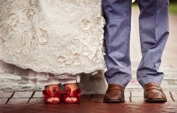 Свадебные туфли фото 21