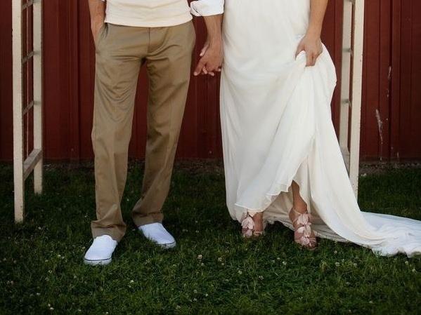 Свадебные туфли фото 22