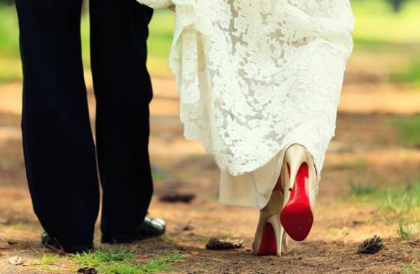 Свадебные туфли фото 23