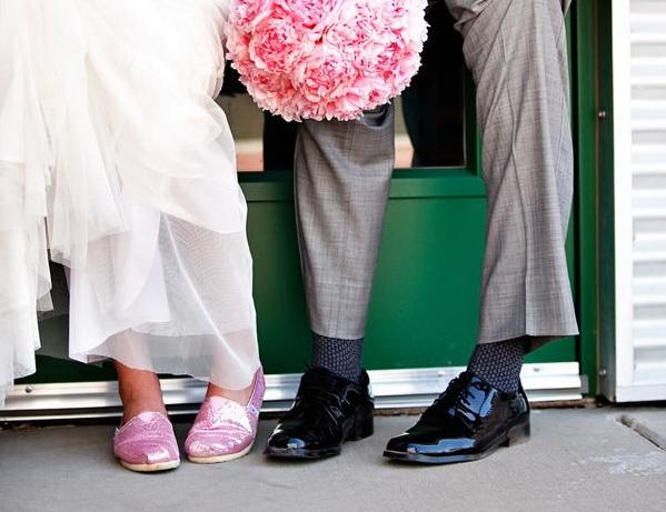 Свадебные туфли фото 34