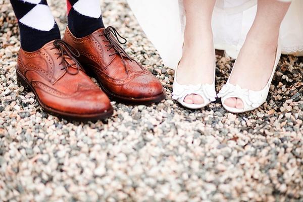 Свадебные туфли фото 5