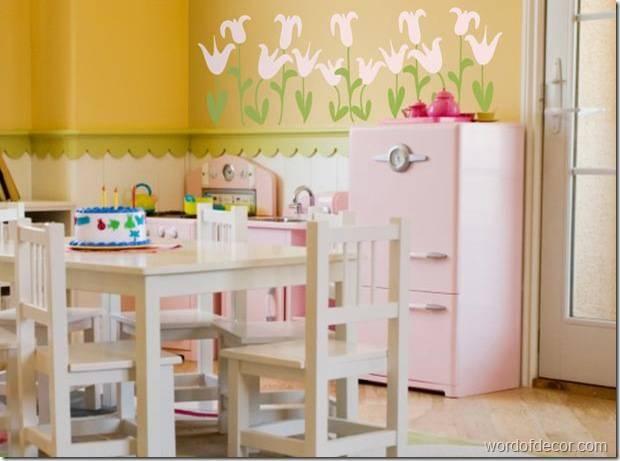 Интерьер детской игровой комнаты