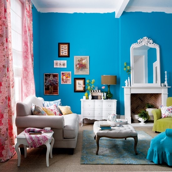 стильный интерьер гостиной