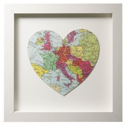 Карта мира в интерьере фото 4