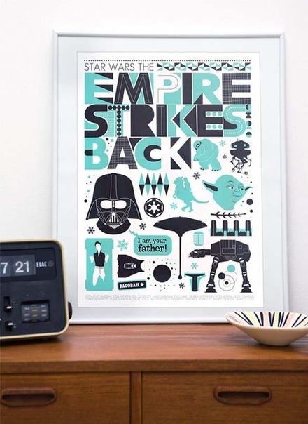 Винтажные таблички с надписями в интерьере