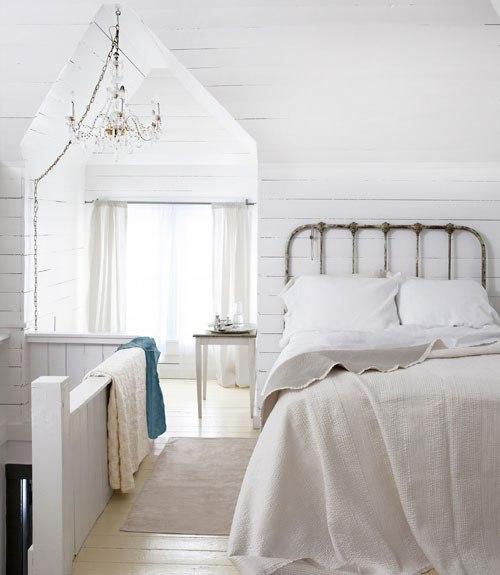 Спальня в мансарде