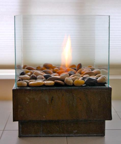 Камин в квартире фото 1
