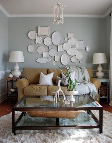 Идеи оформления стен