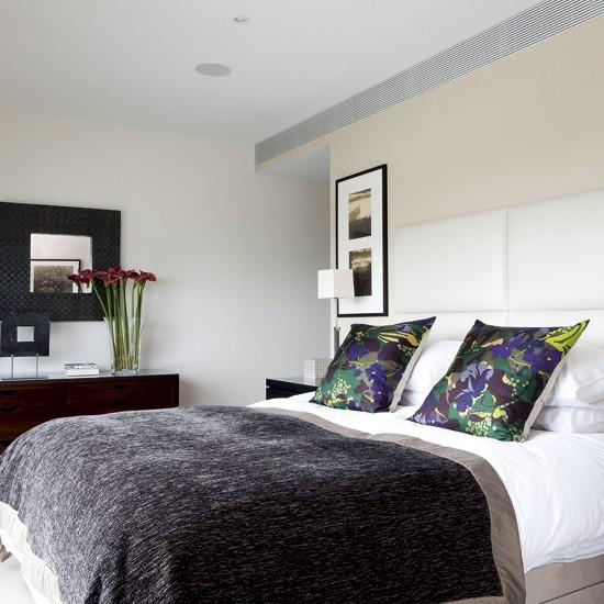 Интерьер спальни в стиле модерн фото 7