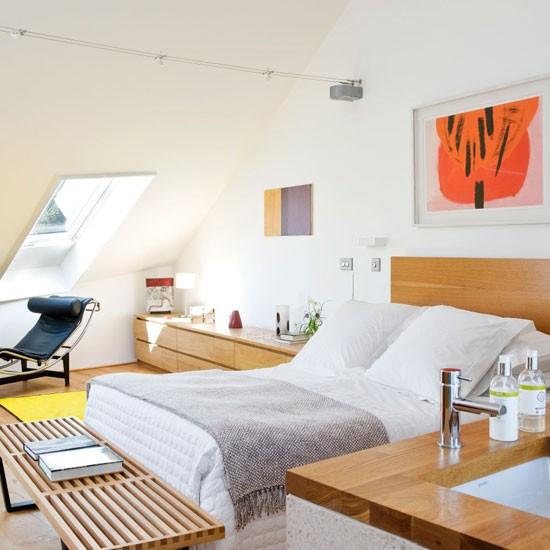 Интерьер спальни в стиле модерн фото 6