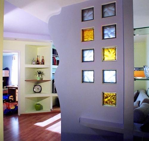Перегородки в квартире, фото