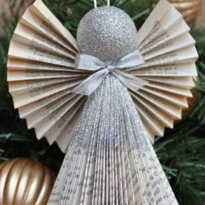 рождественский ангел из бумаги фото 067