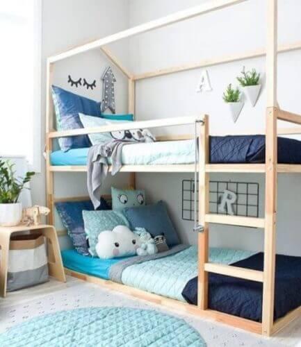 Детская комната для двоих детей фото 02