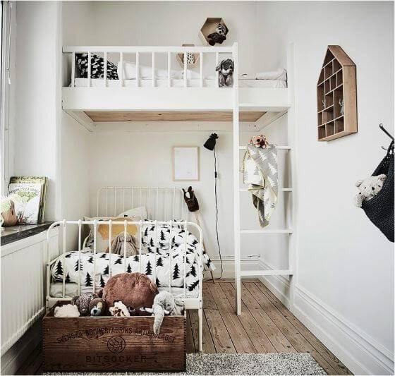 Детская комната для двоих детей фото 03