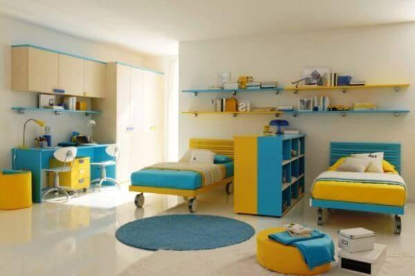 Детская комната для двоих детей фото 05
